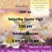 Easter Vigil and Easter Sunday